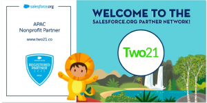 Two21 Salesforce Org banner